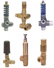 Regulační, přepouštěcí a pojistné ventily